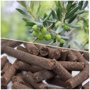 Olive cake pellets